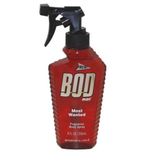 Parfums de Coeur BOD Man Fresh Blue Musk Men's 8-ounce Fragrance Body Spray