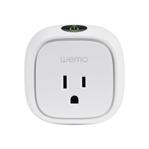 WeMo WiFi Enabled Insight Switch, Control Monitor Energy Usage From Anywhere