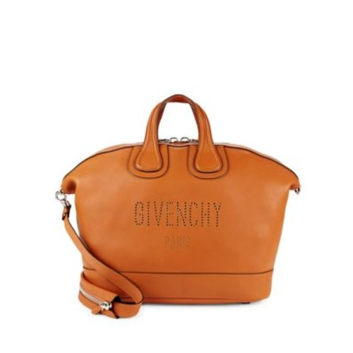 Givenchy - Top Zip Leather Top Handle Bag
