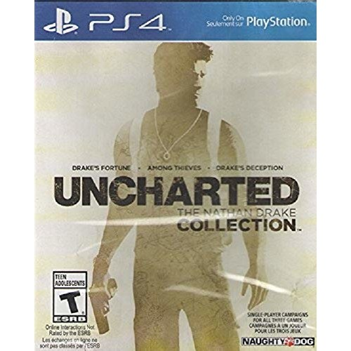 UNCHARTED: The Nathan Drake Collection - PlayStation 4 [Disc, Standard, PlayStation 4]