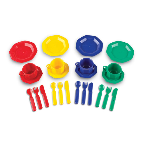 Learning Resources Pretend & Play Dish Set 24 Pieces