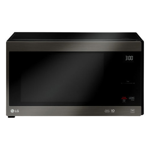 LG LMC1575SW 1.5 cu. ft. Countertop Microwave Oven with Hexagonal Ring and Sensor Cooking