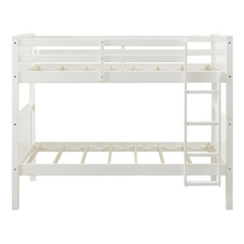 Callie Twin Over Twin Upholstered Bunk Bed Gray - Dorel Living