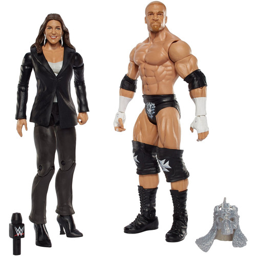 WWE Stephanie McMahon & Triple H - Battle Packs 42 Toy Wrestling Action Figures