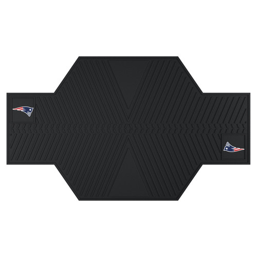 FANMATS NFL - New England Patriots Motorcycle Utility Mat