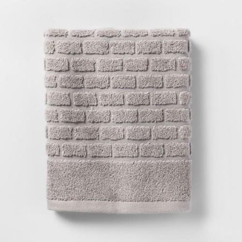 Towels Gray Tile - Threshold