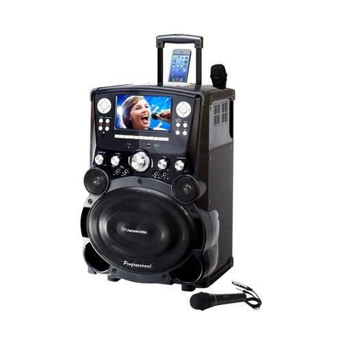 Karaoke USA - MP3 Karaoke System - Black