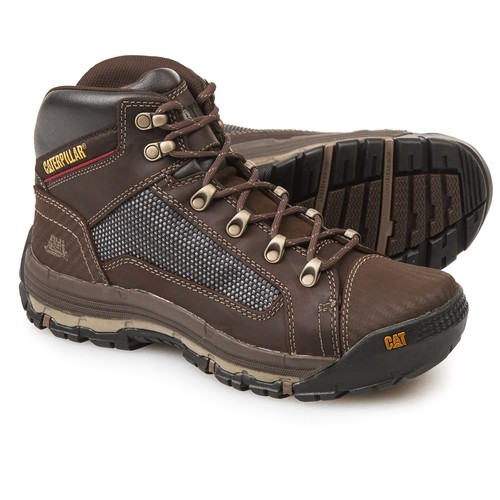 Caterpillar Convex Mid Work Boots - Leather (For Men) [width: M]