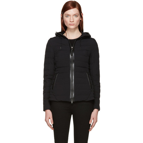 MACKAGE Black Quilted Down Kim Jacket