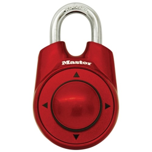 Master Lock Speed Dial Resettable Combo Lock - Color May Vary (1500ID)