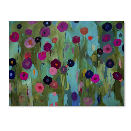 Carrie Schmitt 'Time To Bloom' Canvas Art [option : 14x19 Wrapped Canvas Art]