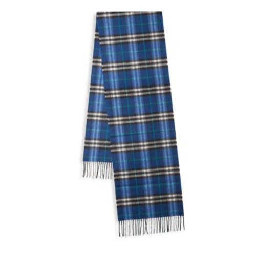 BURBERRY Castleford Plaid Cashmere Scarf