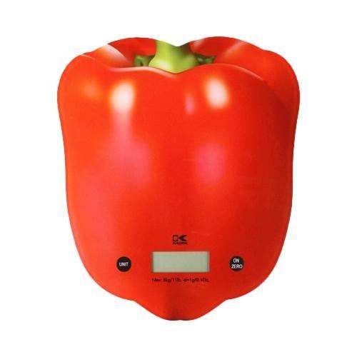 Kalorik - Digital Kitchen Scale - Red