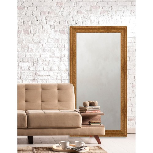 Larson-Juhl Langdon 25.625 in. x 49.625 in. European Wide Framed Antique Mirror