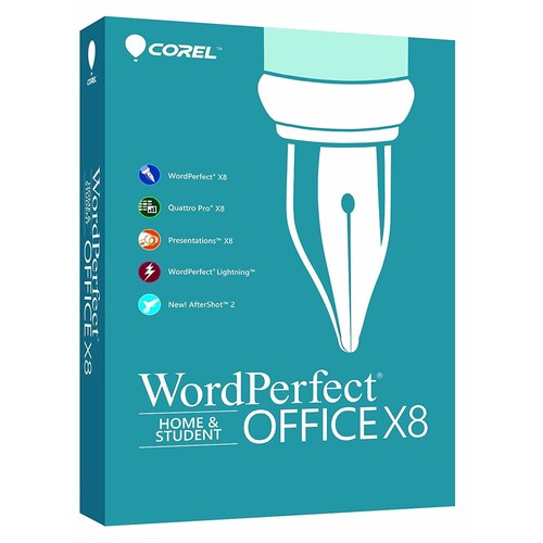 Corel WordPerfect Office X8 Home & Student Edition for PC [PC Disc]