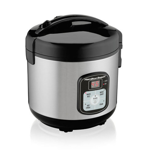 Hamilton Beach 8-Cup Programmable Rice Cooker and Steamer 37519