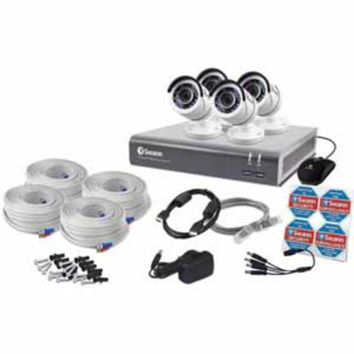 Swann 8 Channel 1080p Digital Video Recorder & 4 x PRO-T853 Cameras