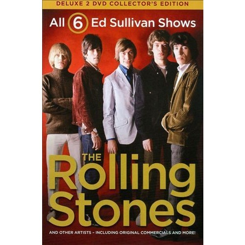 6 Ed Sullivan Shows Starring the Rolling Stones [DVD]