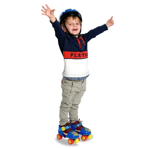 Apache Trainer Skates with Toy Helmet