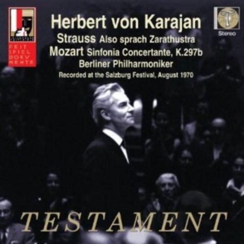 Strauss: Also sprach Zarathustra; Mozart: Sinfonia Concertante K297b