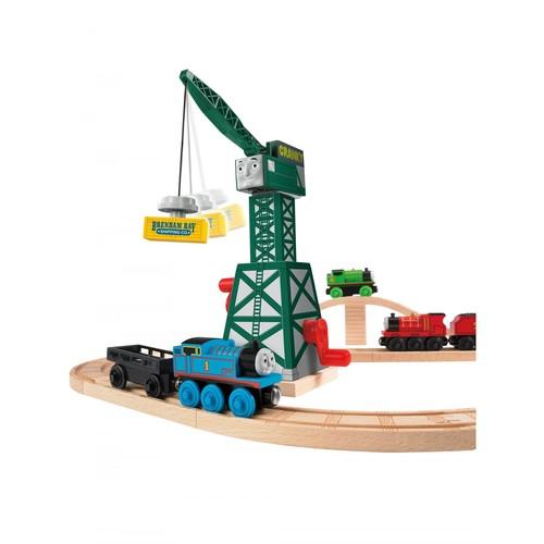 Fisher-Price Thomas the Train Wooden Railway Cranky the Crane