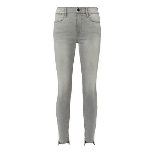 FRAME Le High Grey Skinny Jeans