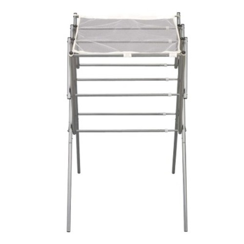 Household Essentials Extendable Folding Drying Rack with Shelf
