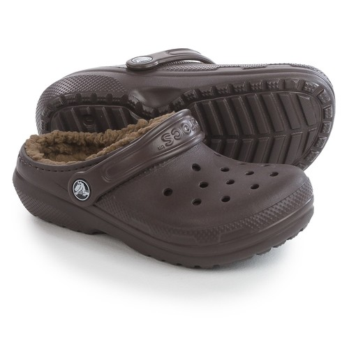 Crocs Classic Lined Clogs (For Little and Big Kids)