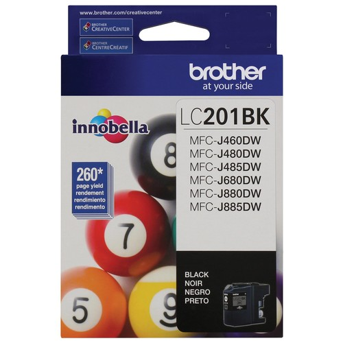 Brother Innobella LC201BK Original Ink Cartridge