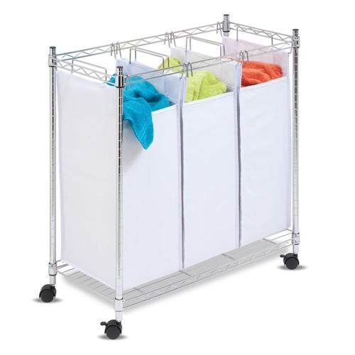 Honey-Can-Do Urban Triple Laundry Sorter Hamper