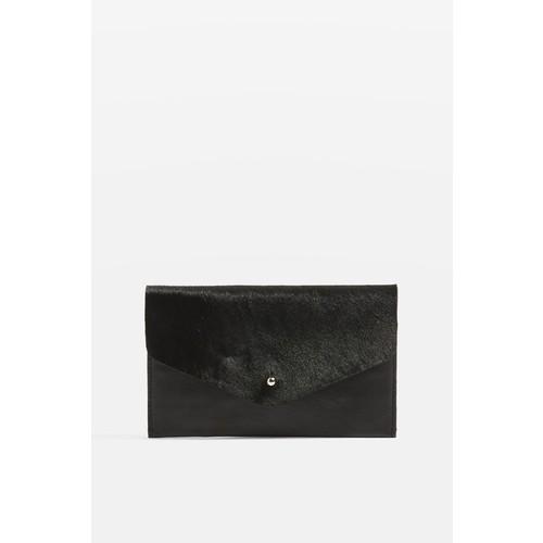 PONY Leather Envelope Purse