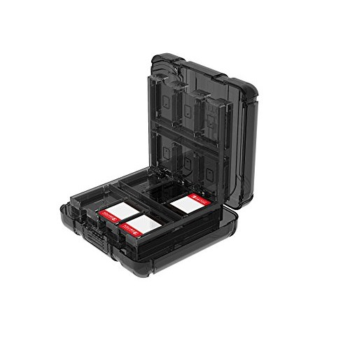 PDP Nintendo Switch Deluxe Game Case For Up to 24 games, 500-004