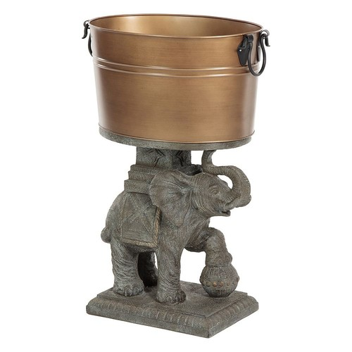 Bombay Outdoors 21 Qt. Elephant Beverage Tub