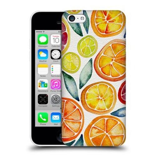 Official Cat Coquillette Fruits & Veggies Citrus Slices Hard Back Case For Apple Iphone 5C