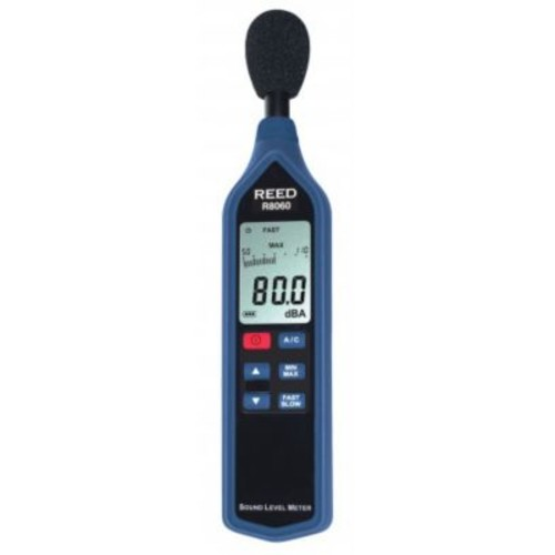 REED R8060 Sound Level Meter with Bargraph, Type 2, 30 to 130 dB