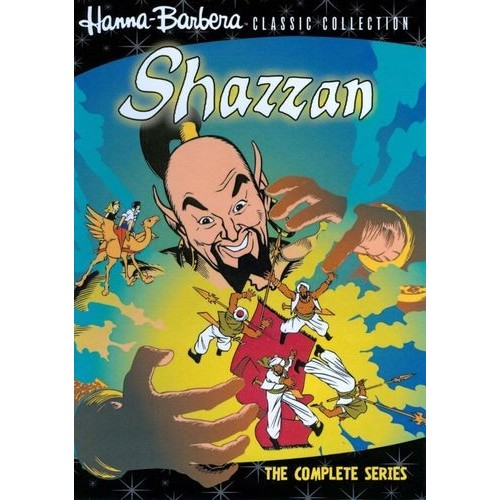 Shazzan: The Complete Series: Jerry Dexter, Don Messick, Barney Phillips, Janet Waldo, Paul Frees, Joseph Barbera, William Hanna, Anthony Milch, Dan Finnerty, Larry C. Cowan, Lewis Marshall, Victor O. Schipek, Bill Lutz, Sloan Nibley, Walter Black: Movies & TV