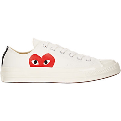 Comme des Garons PLAY Women's Chuck Taylor 1970s Low-Top Sneakers