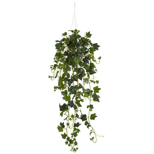 English Ivy Hanging Basket Artificial Plant
