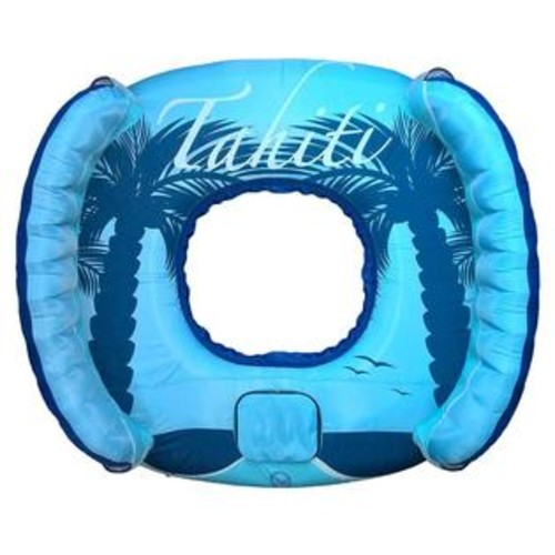 Blue Wave Blue Drift and Escape Inflatable Pool Float - 78 inch x 72 inch