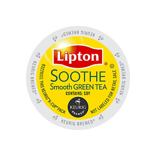 Lipton Refresh Green Tea K-Cups, Pack Of 24