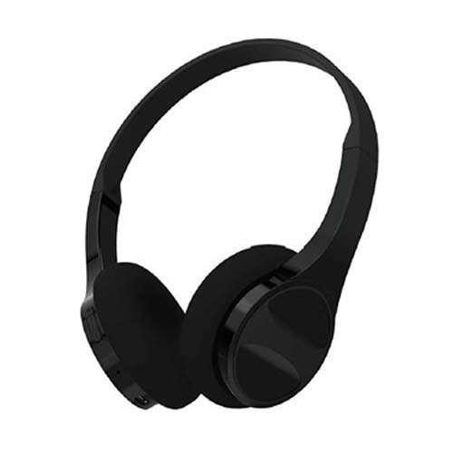 HYPE Ultra Slim Stereo Bluetooth Headphones w/Mic - Black (HY-10588-BLK)