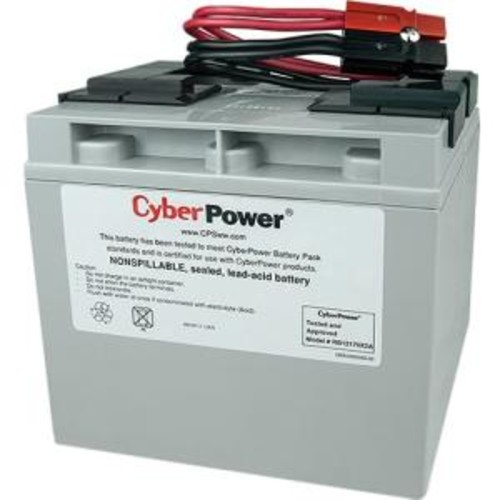 CyberPower RB12170X2A - UPS battery - lead acid - 17 Ah
