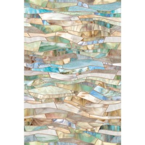 Artscape 24 in. x 36 in. Terrazzo Decorative Window Film