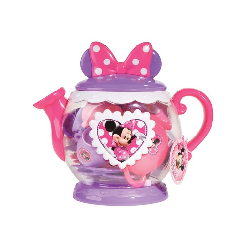 Disney Teapot Play Set - Minnie Mouse Bow-tique - Lavender with Pink
