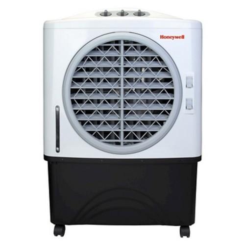 Honeywell - Indoor/Outdoor Evaporative Air Cooler - Black/White