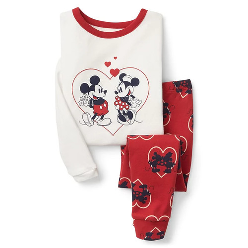babyGap | Disney Baby Mickey Mouse and Minnie Mouse heart sleep set [regular]
