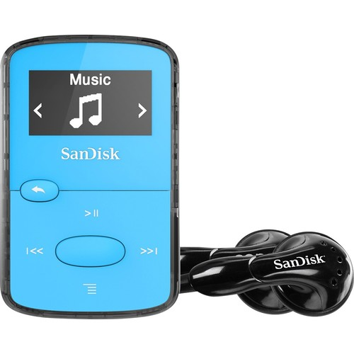 8GB Clip Jam MP3 Player (Blue)