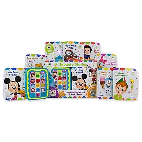 Me Reader Jr. Disney Baby Snuggle Stories Electronic Reader and 8-Book Set