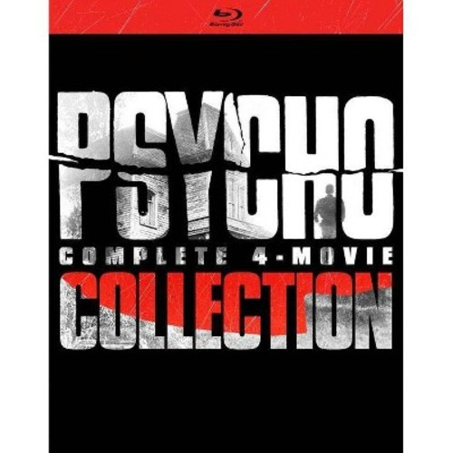 Psycho:Complete 4 Movie Collection (Blu-ray)