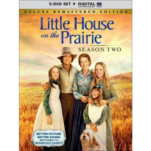 Little House on the Prairie: Season Two [5 Discs] [Includes Digital Copy] [UltraViolet] [DVD]